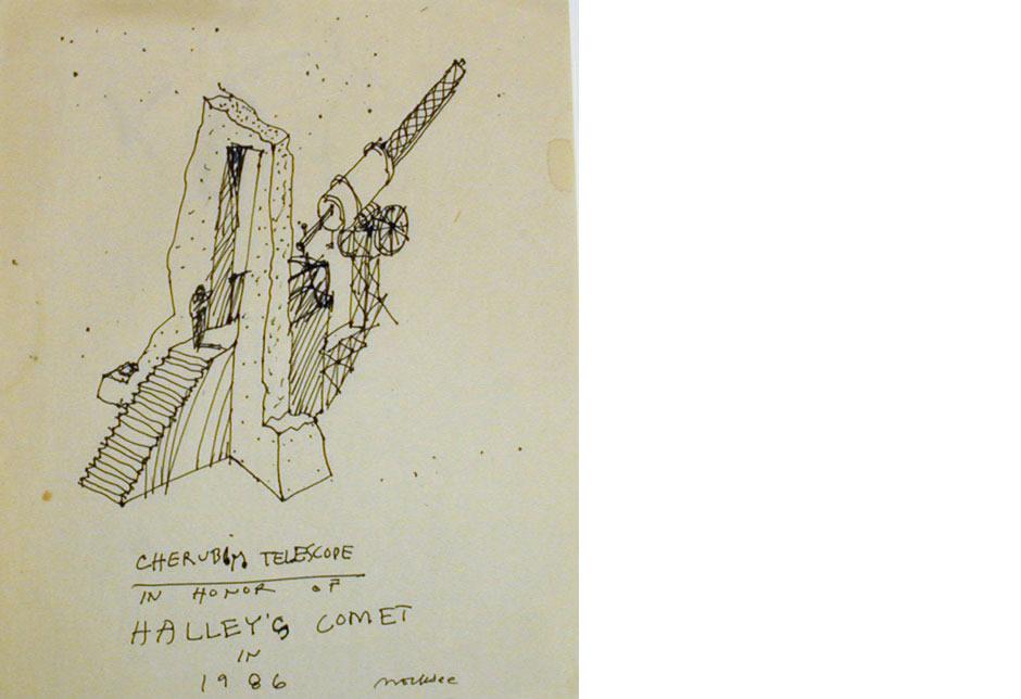 Cherubim Telescope Sketch 1