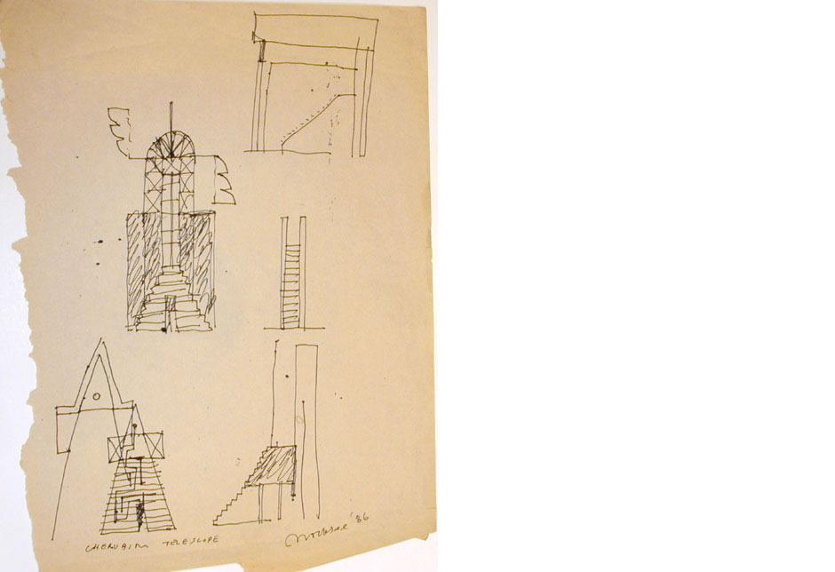 Cherubim Telescope Sketch 2