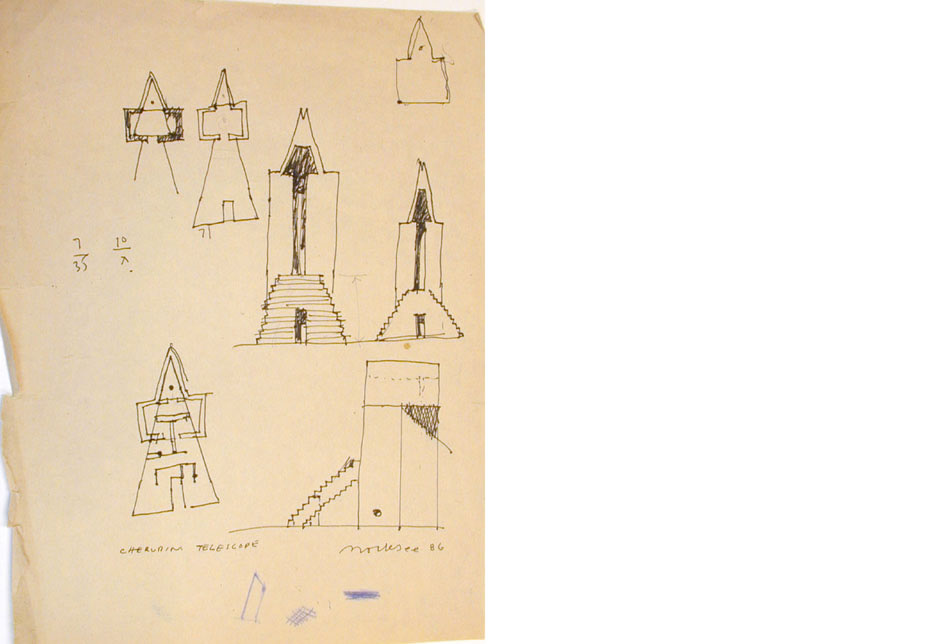 Cherubim Telescope Sketch 3