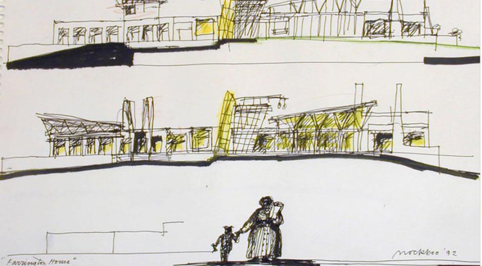 Farrington House Sketch